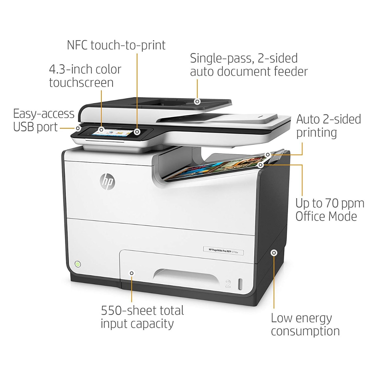 HP PageWide Pro 577dw Multifunction Printer - Printers India
